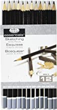 Royal & Langnickel sketching artist pencils - set of 12 drawing pencils 5H to 6B