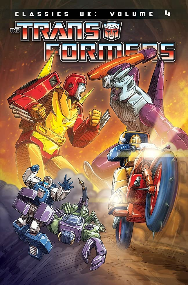問い合わせる恥ずかしさ農学Transformers: Classics UK, Vol. 4