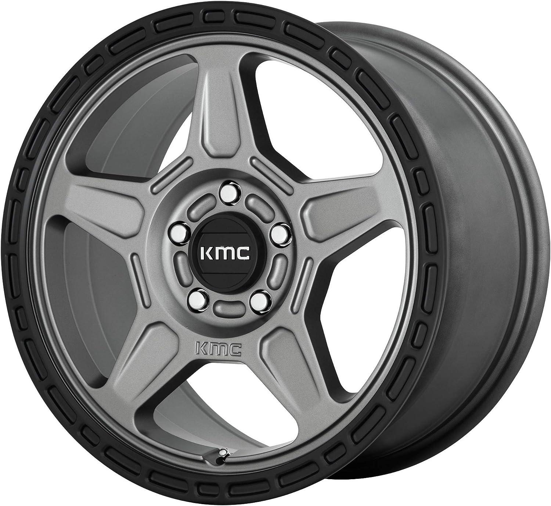 KM721 High quality new 16X7.5 5X4.5 S-GRAY BLK shopping LP RIM OF 1 30MM TOTAL