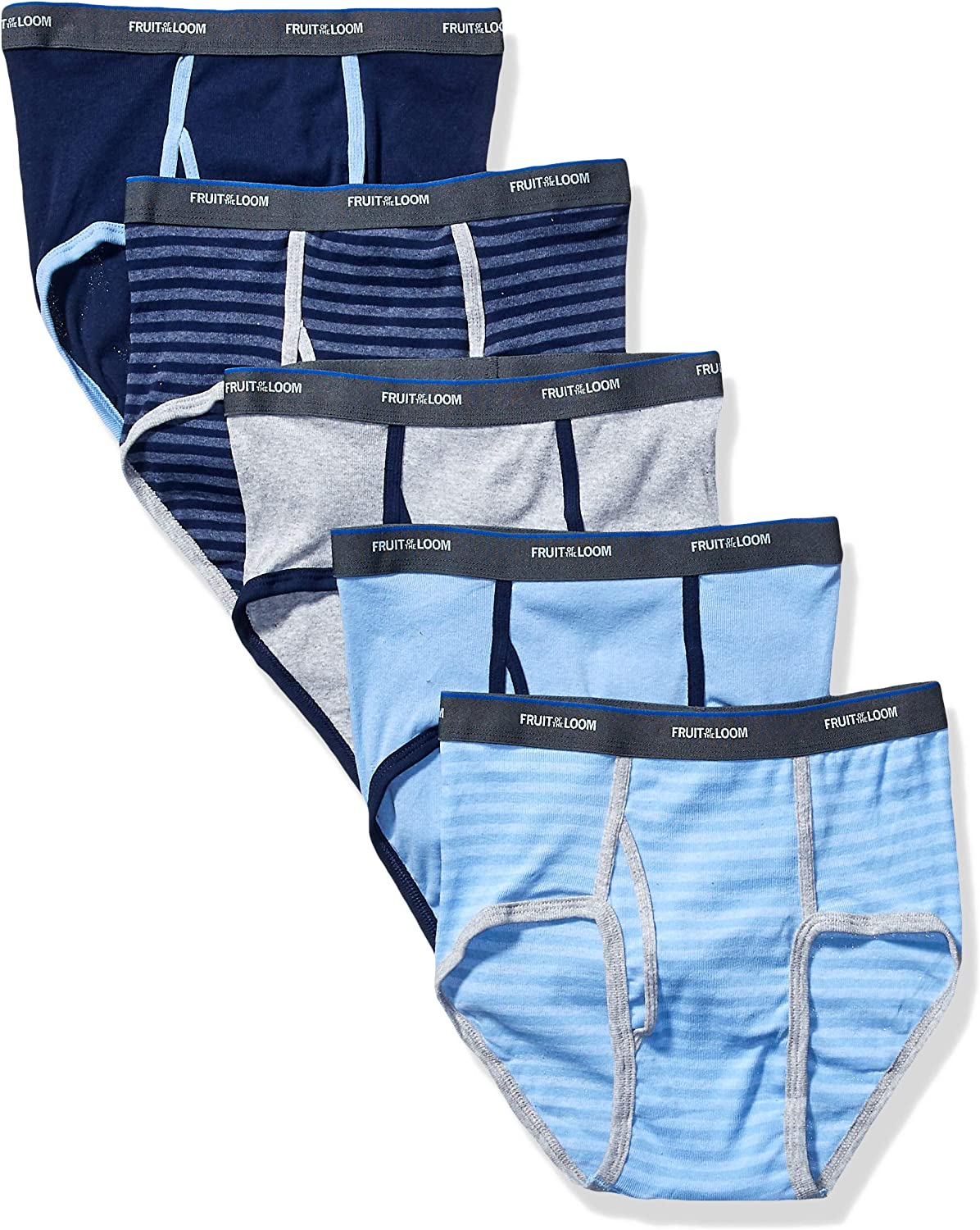 Pack of 5 FRUIT OF THE LOOM Boys Underwear