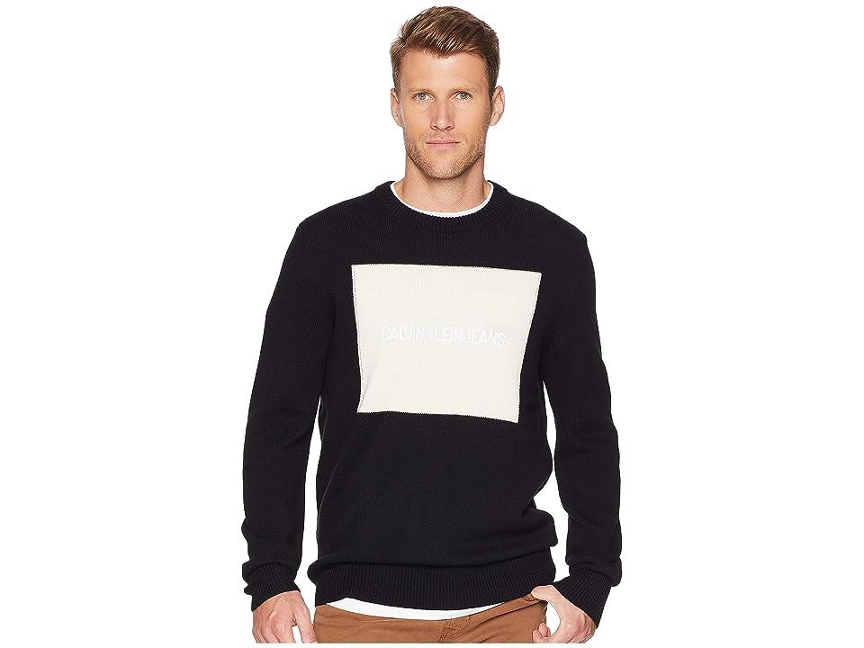 Calvin Klein Jeans Logo Sweater (Black) Men