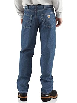 Carhartt Flame Resistant Utility Denim Jean Relaxed Fit