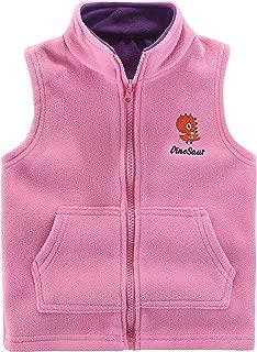 Motteecity Boys' Warm Zipper Fleece Vest