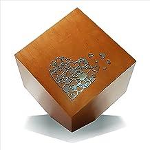 Urns UK Cremation Ashes Urn, Mahogany Finish