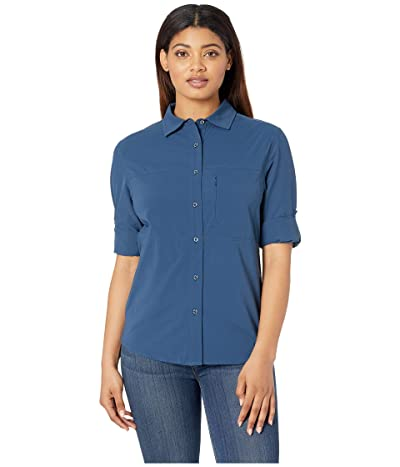 The North Face Boreaz Long Sleeve Roll-Up Shirt (Blue Wing Teal) Women