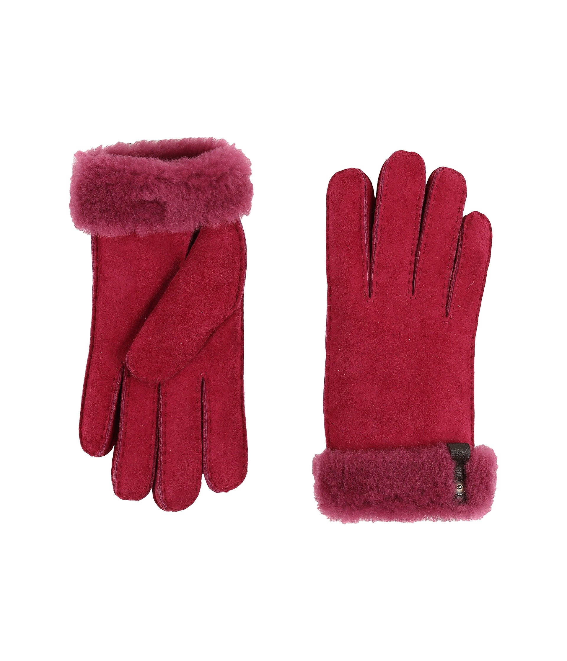 Guantes para Mujer UGG Tenney Glove with Leather Trim  + UGG en VeoyCompro.net