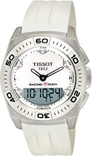 Tissot Racing-Touch Men's Mother of Pearl Ana-Digi Dial Rubber Band Watch - T002.520.17.111.00