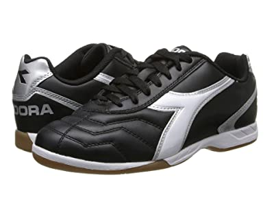 Diadora Capitano LT ID (Black/White/Silver) Men