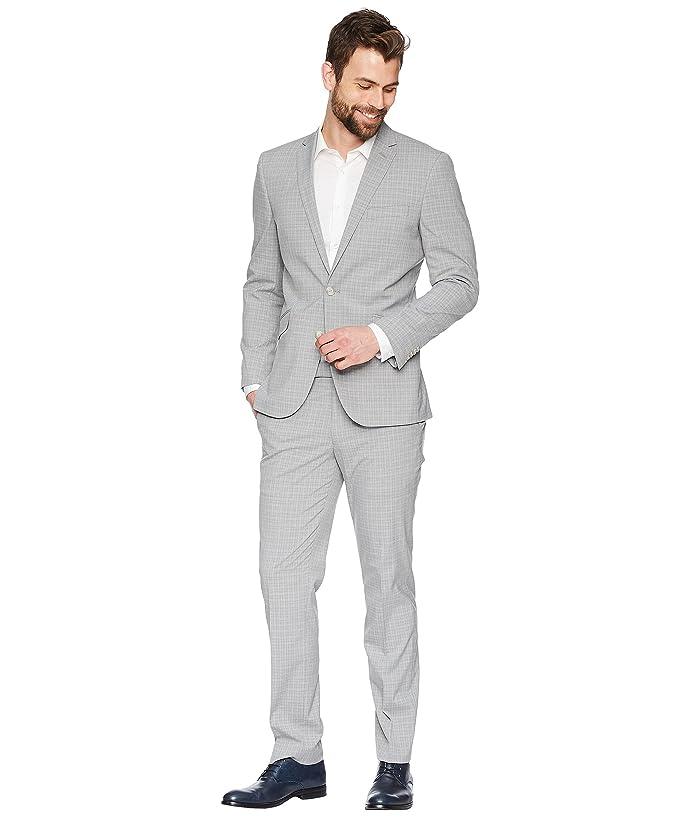Kenneth Cole REACTION Mens Stretch Slim Fit Suit