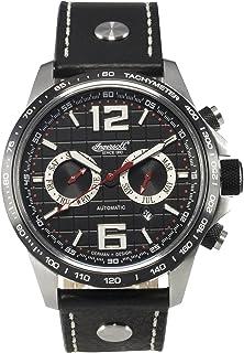 Ingersoll - IN1816BK - Reloj analógico automático para Hombre con Correa de Piel, Color Negro
