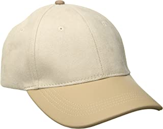 Michael Stars Womens MS16428 Suddenly Suede Baseball Cap Baseball Cap
