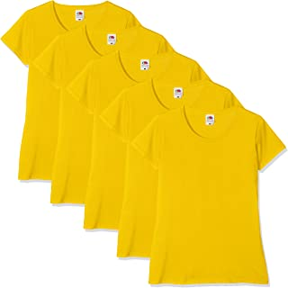 e05e4bff633463 Amazon.it: Giallo - T-shirt, top e bluse / Donna: Abbigliamento