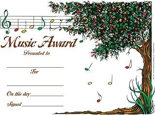 Music Tree Award - Pack of 25 - Music Award Certificates