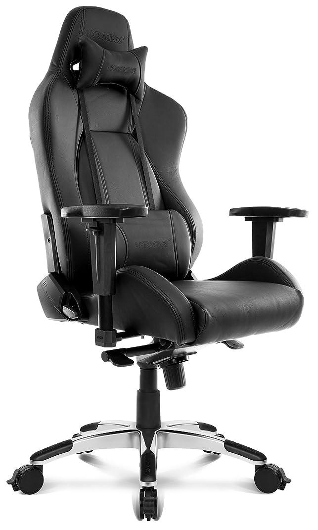 並外れてプレーヤーバラエティAKRacing オフィスチェア ゲーミングチェア Premium 低座面タイプ Raven レイブン