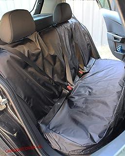Carseatcover UK® Strapazierfähiger schwarzer wasserdichter Rücksitzbezug – passend für die meisten Autos