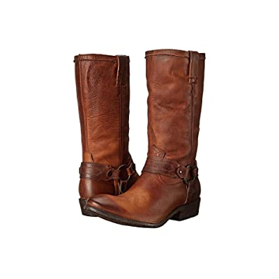Frye Carson Harness (Cognac Washed Antique Pull Up) Women