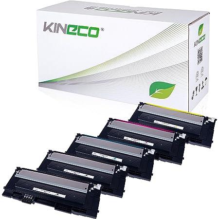 5 Toner Kompatibel Mit Clp 320 Für Samsung Clp 325 Clx 3180 Clx 3185 Schwarz Je 2 500 Seiten Color Je 2 000 Seiten Bürobedarf Schreibwaren