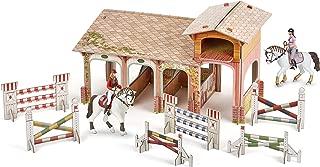 Papo–80310–Jeu de Construction Set Pony Club