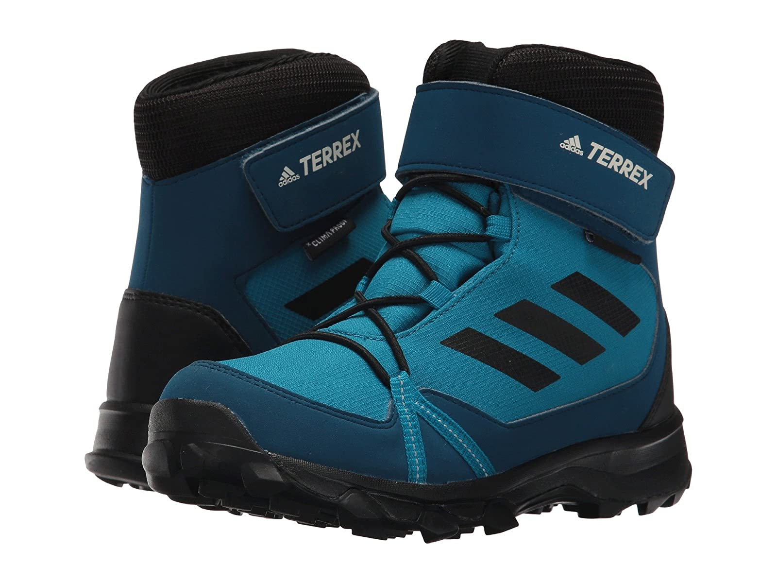 adidas Outdoor Kids Terrex Snow CF CP CW (Little Kid/Big Kid)Stylish and characteristic shoes