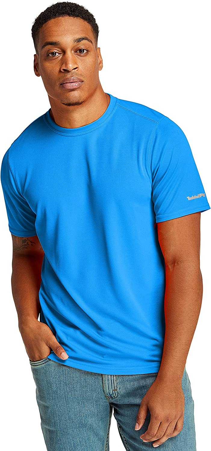 Max 78% OFF Timberland PRO Men's 4 years warranty Wicking Short Sleeve Good T-Shirt