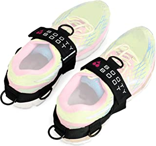 BOOTY BOOT Multifunctional Glute Kickback and Leg Exercise Attachment Ankle Straps (Pair – 2 Count) Strengthen Tone and Build Butt Quads Hamstrings Abductors and Adductors 100% Guaranteed
