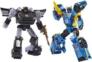 Transformers Generations War for Cybertron Galactic Odyssey Collection Dominus Criminal Pursuit 2-Pack, AMAZON EXCLUSIVE, ...