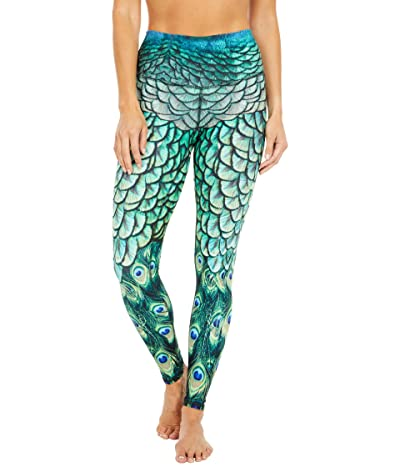 Niyama Sol Peacock Leggings (Teal) Women