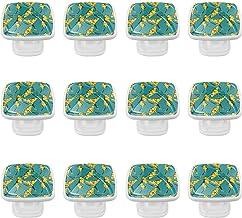 Lade Knop Pull Handle Cabinet Knoppen Lade Dressoir Kast Garderobe Trekt Handgrepen 12 Stks Knoppen voor Keuken Kasten met...
