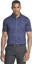 Van Heusen Men's Flex Short Sleeve Stretch Windowpane Polo Shirt