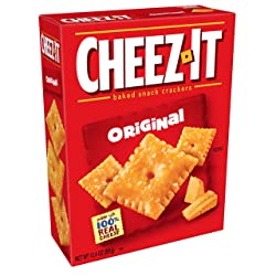 Cheez-It Baked Snack Cheese Crackers, Original, 12.4 oz Box