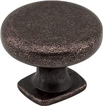 Jeffrey Alexander MO6303DMAC Knob Belcastel Collection, Distressed Oil-Rubbed Bronze