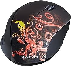 Verbatim Wireless Optical Design Mouse, Burnt Orange 97782