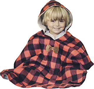 baby fleece poncho