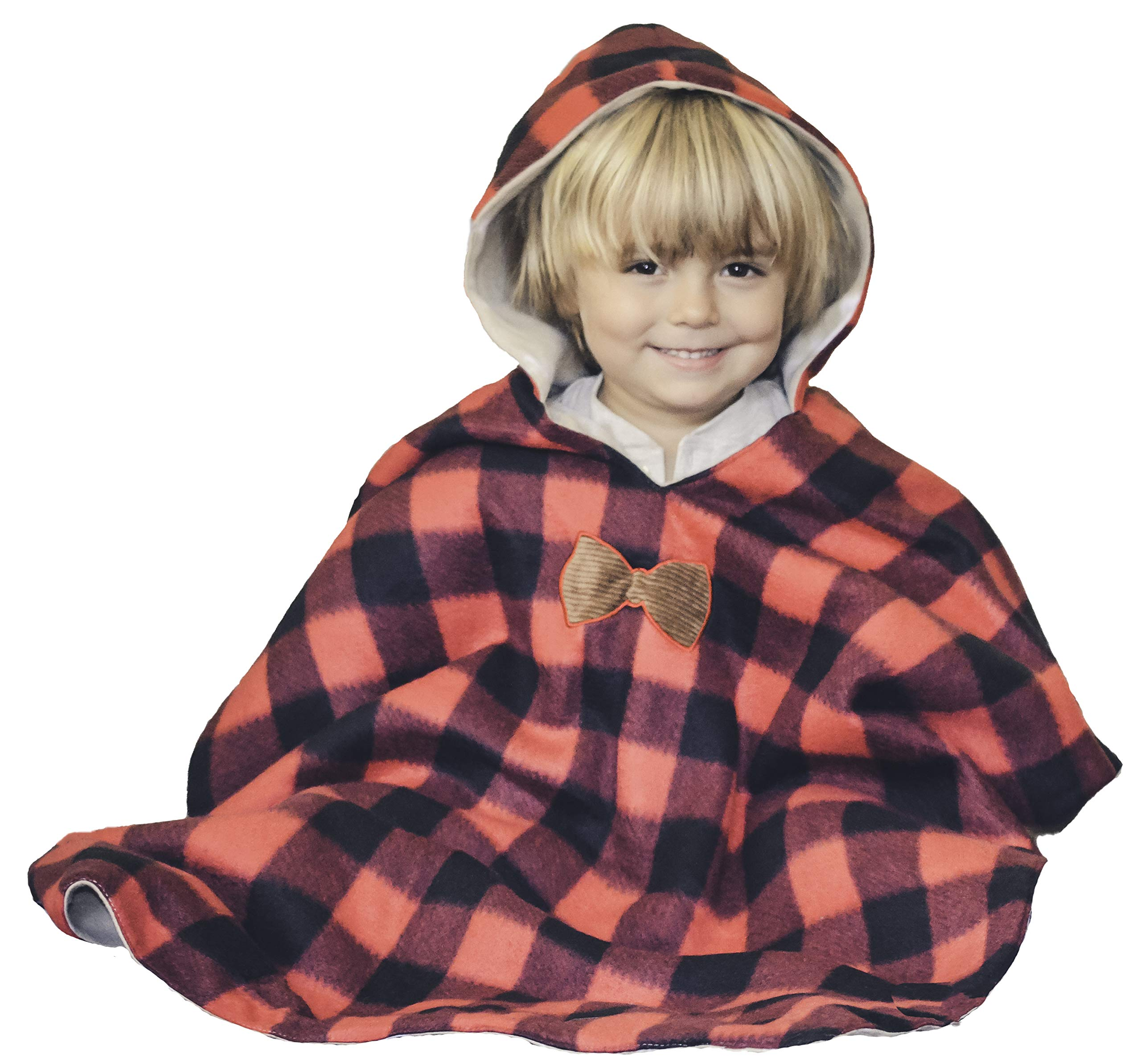 Child Fleece Poncho Pattern – Patterns For You