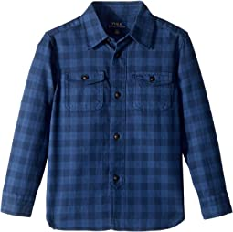 Plaid Cotton Workshirt (Little Kids/Big Kids)
