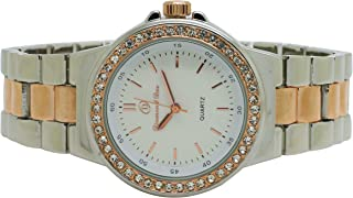 Diamond Dior Dress Watch For Women Analog Stainless Steel - D0947035-1