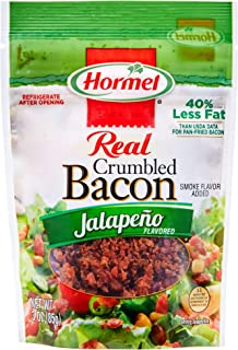 Hormel Crumbled Bacon, Jalapeno, 3 Ounce