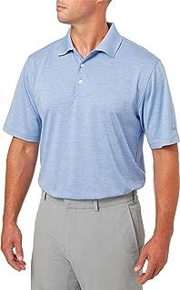 Walter Hagen Men's Core Space Dye Golf Polo (Periwinkle, S)