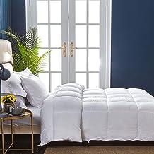 DONETELLA 201442 MFCF6PK JIO Hotel Collection Bedding 6 Piece Comforter Set (King,White) - Luxurious Down Alternative Comf...