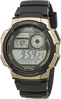 Casio Men's Grey Dial Resin Digital Watch - AE-1000W-1A3VDF
