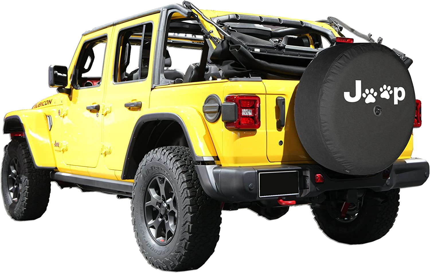 Tire Covers 32 Soft JL Tire Cover Compatible with Jeep Wrangler JL ...