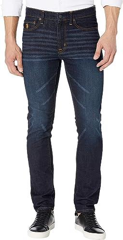 Stretch Skinny Fit Denim Jeans in Blue