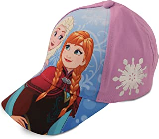 Girls Frozen Elsa & Anna Cotton Baseball Cap...