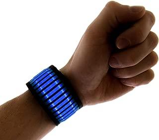 Neon Nightlife LED Slap Band Bracelet/Armband, Striped