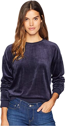Track Lightweight Velour Paradise Cove Pullover