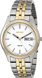 Men's SNE032 Two-Tone Stainless Steel Solar Watch