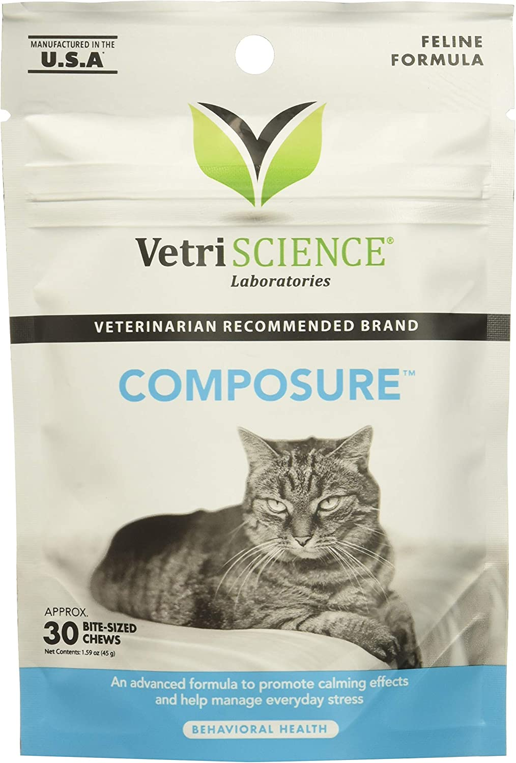 New product type 4 Packages VetriScience Laboratories - Composure Feline 120 B Popular products