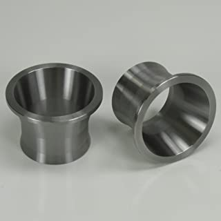 Exhaust Port Torque Cones 1999-Later Harley Sportster Evolution EVO Engines and Twin Cam Models - Stainless Steel - Increases Power and Reduces Reversion on Unbaffled Exhaust Systems - Chopper Bobber