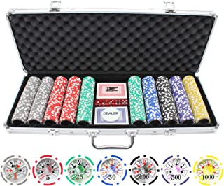 Best 500 las vegas poker chip set Reviews