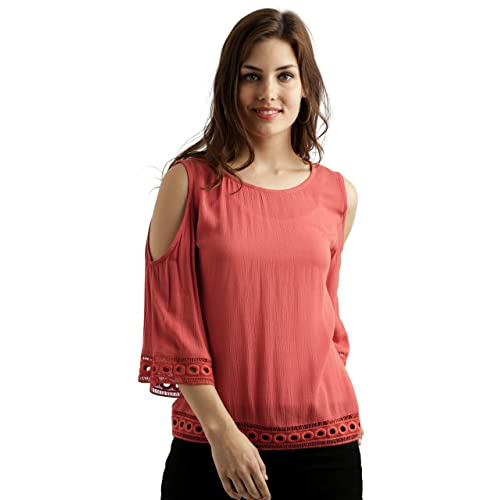 ba1c0a699b3cb Women s Cold Shoulder Tops  Buy Women s Cold Shoulder Tops Online at ...